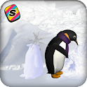 [Shake] Penguin Snow Wallpaper icon