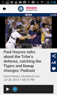 cleveland.com: Indians News - screenshot thumbnail