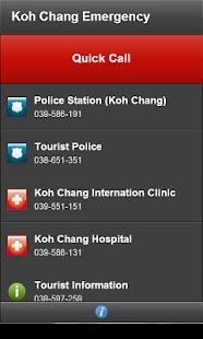 玩旅遊App|Koh Chang Emergency免費|APP試玩