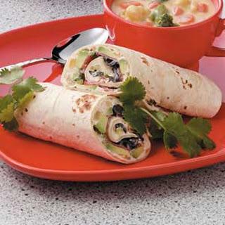Taco Avocado Wraps.