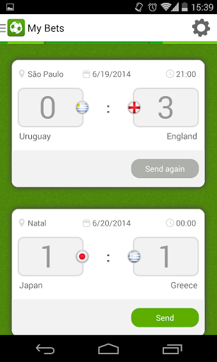 Brazil Football Betting Game