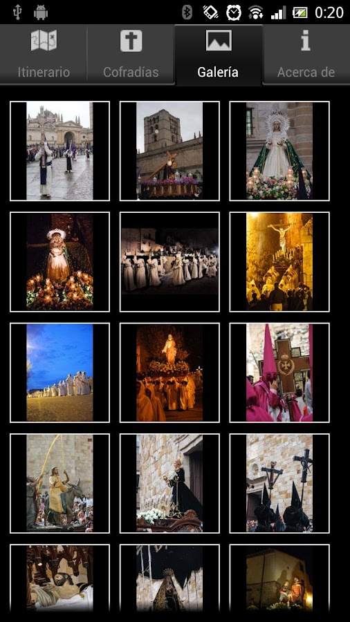 Semana Santa Zamora - screenshot