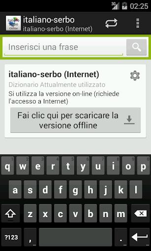 Italian-Serbian Dictionary