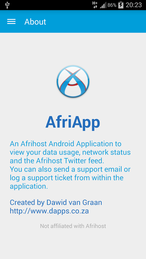 AfriApp- screenshot