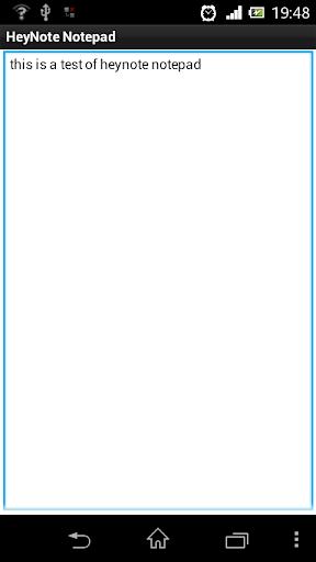 HeyNote Notepad