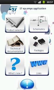 ST op-amps - screenshot thumbnail