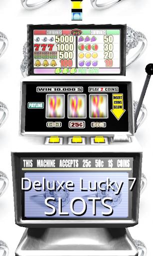 3D Deluxe Lucky 7 Slots