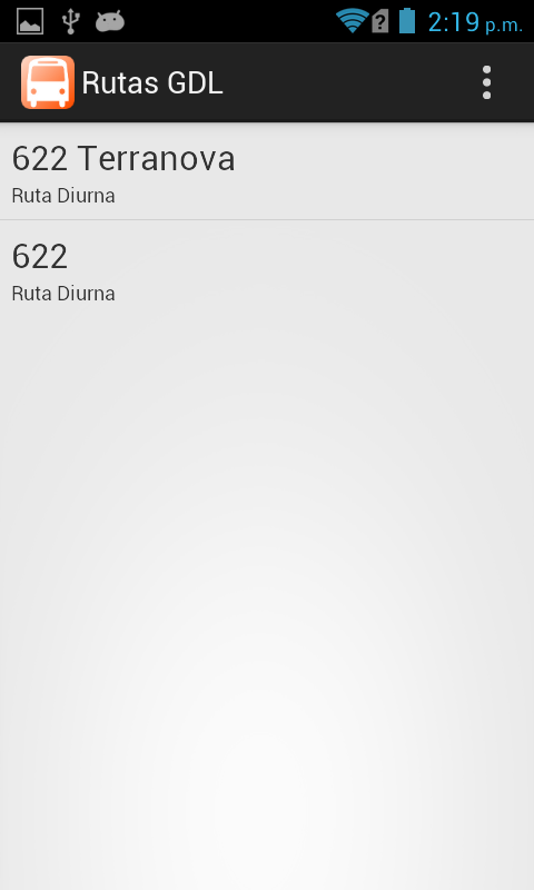 Rutas GDL- screenshot