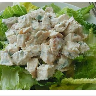 Chicken and Cream Salad.