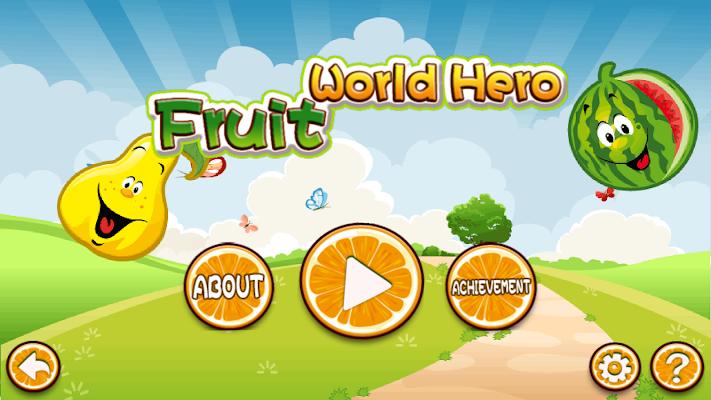 Fruit World Hero (FREE) - screenshot