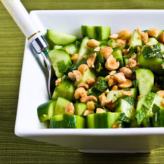 Wake-Up-Your-Mouth Thai Cucumber Salad.