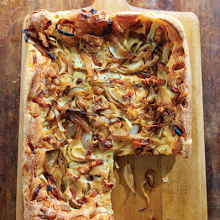 Onion and Bacon Tart.