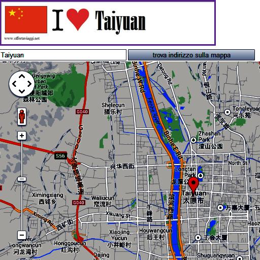 Taiyuan map