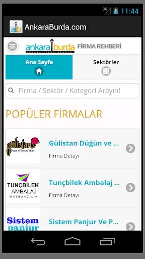 Ankara Burda Firma Rehberi
