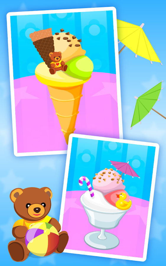 Ice Cream Kids - Cooking game- screenshot