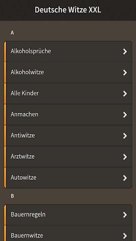 android Deutsche Witze XXL Screenshot 8