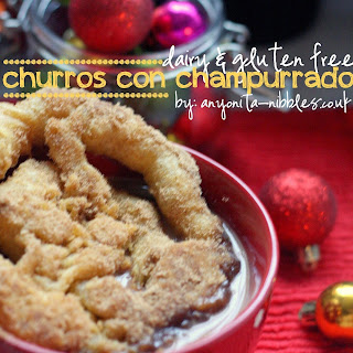 Dairy & Gluten Free Churros & Mexican Atole Recipe