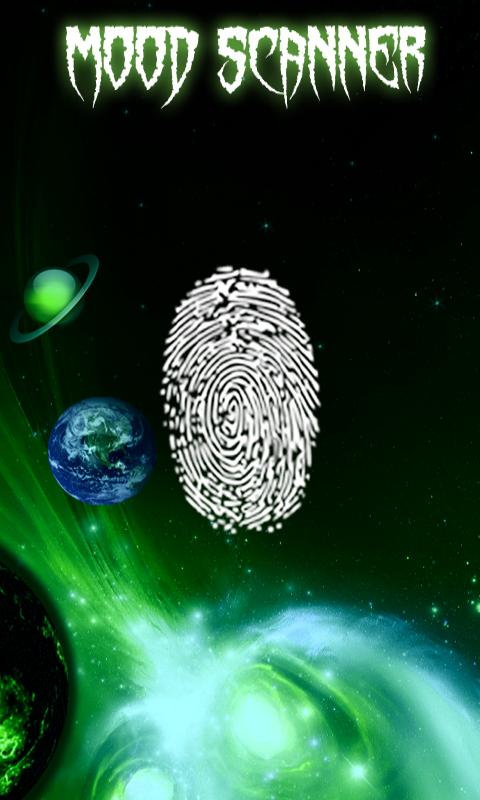 Fingerprint Mood Scanner - screenshot