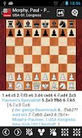Screenshot of ChessBase Online