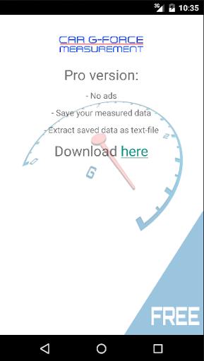 Car G-Force Measurement FREE