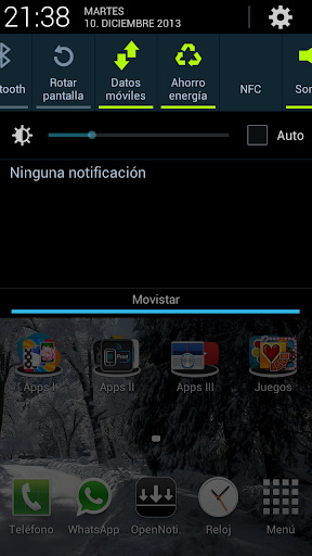 Open Notification Bar Pro