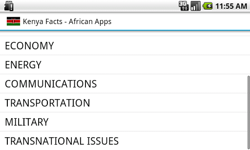 【免費生產應用App】Kenya Facts-APP點子