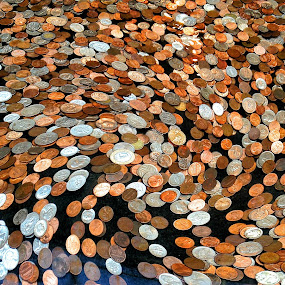 Coins on the Move by Sue Green - Artistic Objects Other Objects ( metropolitan museum of art,  )