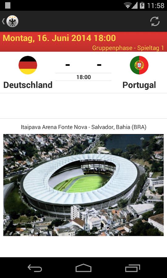 Die Mannschaft - WM 2014 - screenshot