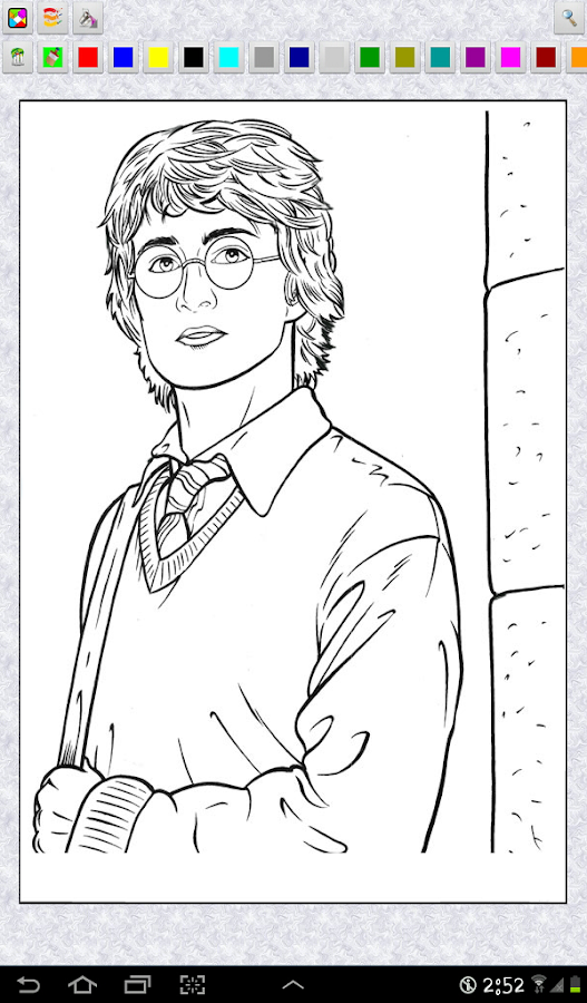 Download the Harry Potter Coloring Pages Android Apps On