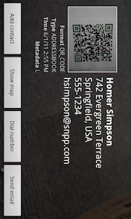 Allcheck Barcode Reader- screenshot thumbnail