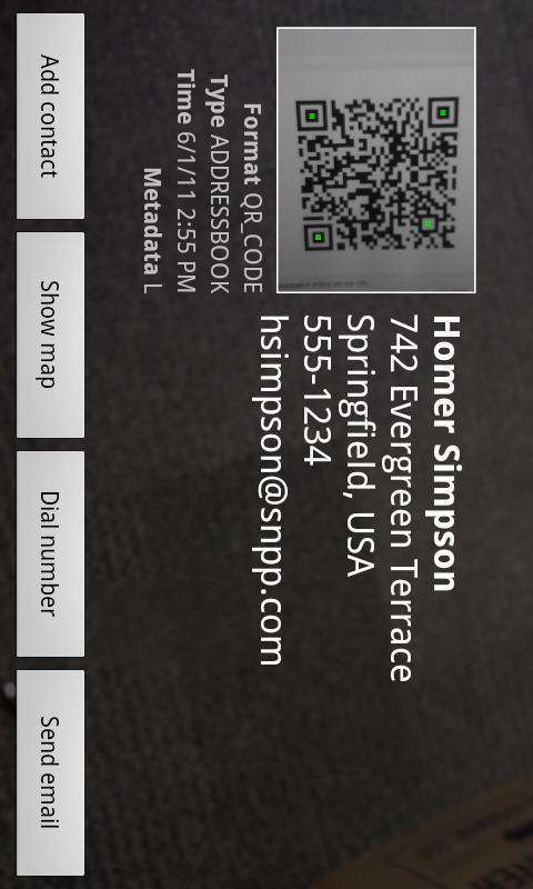 Allcheck Barcode Reader- screenshot