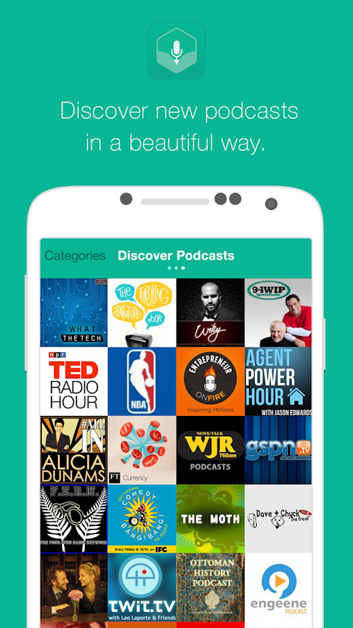 Podtastic- screenshot