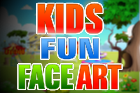 Kids Fun Face Art
