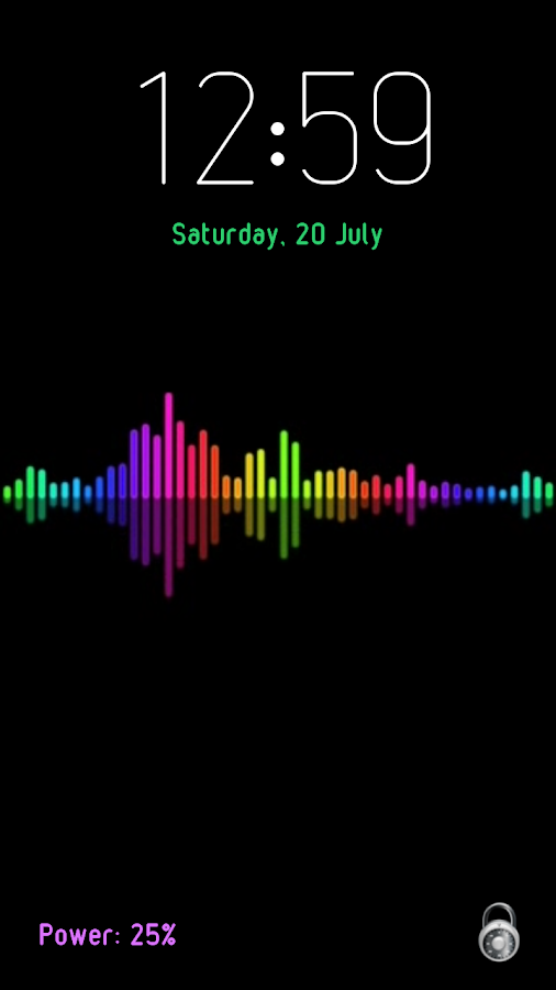 Voice Lock Screen- screenshot