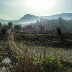 On the way to the Elephant Mountain @Kalaw by Sai Aung Thant Zin - Uncategorized All Uncategorized