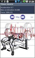 Screenshot of Fitness Power Meter