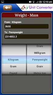 Unit Converter Pro for Android- screenshot thumbnail