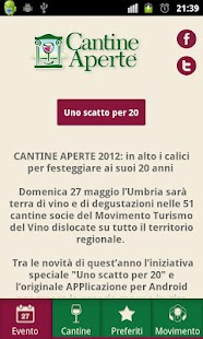 Cantine Aperte Umbria 2012 - screenshot thumbnail
