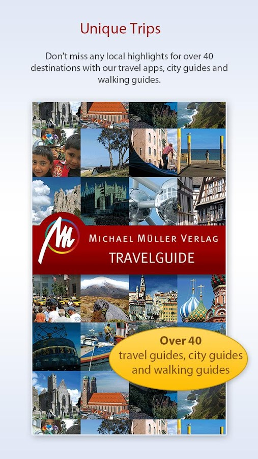 mmtravel guide - travel guides - screenshot