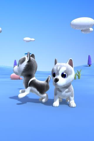 Talking Husky Dog - screenshot