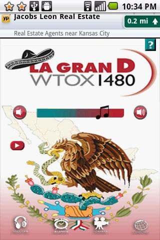 WTOX 1480 La Gran D - screenshot