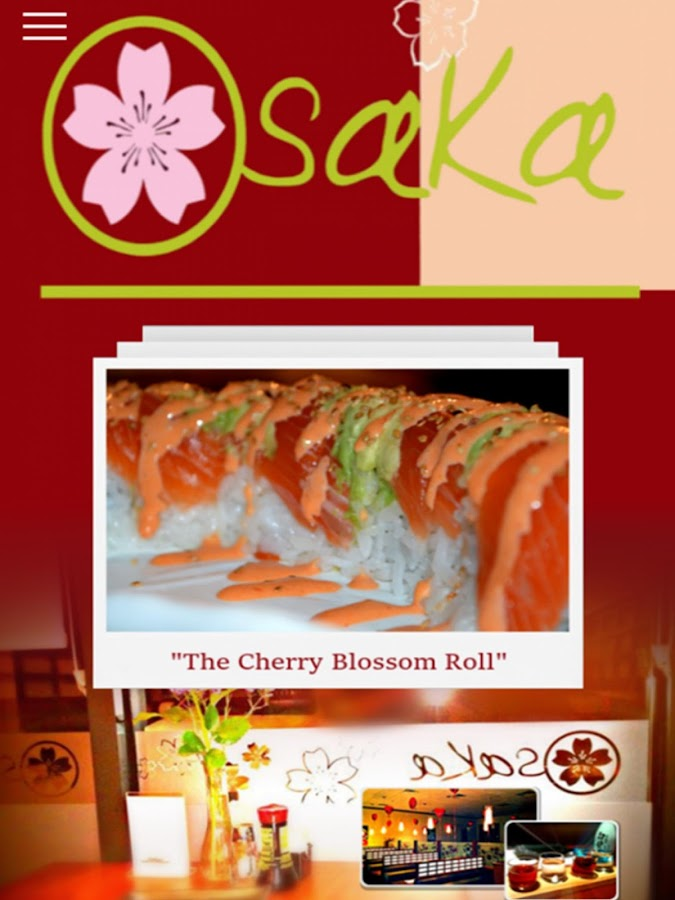 Osaka sushi japanese cuisine android apps on google play for Jj fish menu