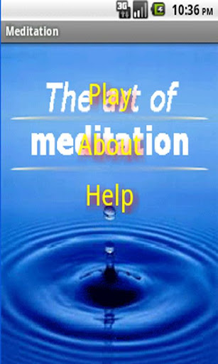Meditation-The art