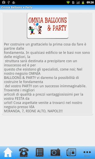 Omnia Balloons e Party