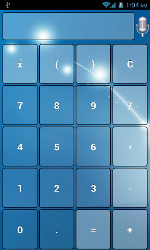Vocal Scientific Calc Free- screenshot