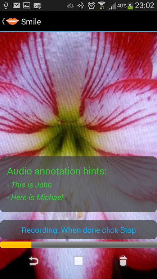 Smile - Smart Photo Annotation- screenshot