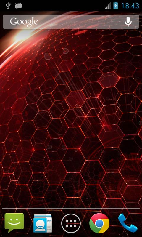 Droid DNA Live Wallpaper - screenshot