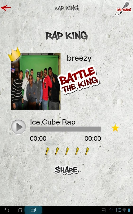 Rap Wars Free- screenshot