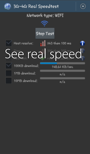 3G-4G Real Speedtest