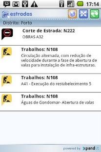 Estradas.pt - Versão Android- screenshot thumbnail